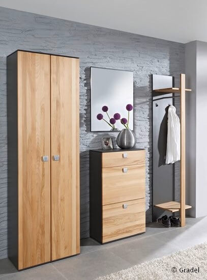 garderobe f r flur und diele tischlerei wolff aus heeslingen. Black Bedroom Furniture Sets. Home Design Ideas