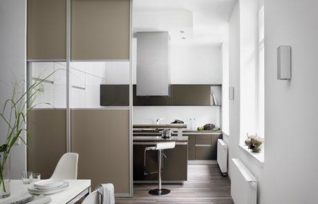 Gleit-Schiebetuer S3000 ergaenzt die Wohnraumgestaltung-raumkonzepte-tischlerei-wolff